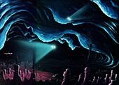 Exploring Europa's ocean,artwork