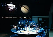 Assorted images of Mission Control at JPL