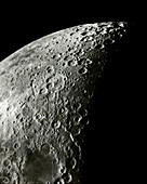 Moon surface features