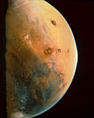 Viking 1 spacecraft photograph of Mars