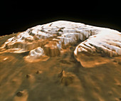 Mars' north pole