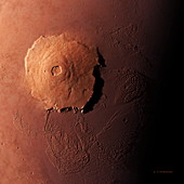 Olympus Mons,morning view