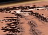 Mars before terraformation,artwork