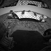 Spirit's lander on Mars