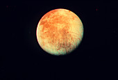 Europa photographed Voyager 1 spacecraft