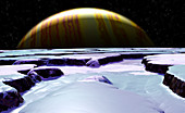 Surface of Europa,artwork