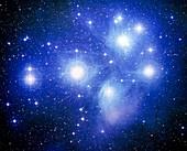 Pleiades star cluster