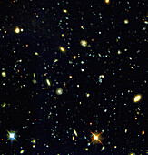 HST deep-view of very distant galaxies