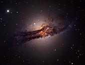 Centaurus A galaxy,optical image