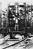 A-3 rocket test,1930s
