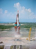 First US manned space flight,1961