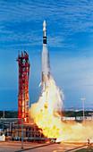 launch of Atlas Agena docking target for Gemini 11