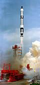 Gemini 8 mission launch