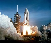 First Space Shuttle launch,1981