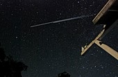 ISS and Endeavour light trails