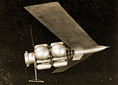1950s Mars spacecraft design