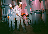 Decommissioning nuclear missile base