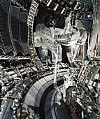 Fusion research,JET Tokamak device