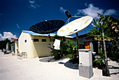 Rural satellite dishes
