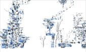 Website source code visualisation