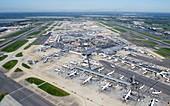 London Heathrow,aerial photograph