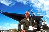 Typhoon fighter plane,test pilot