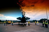 Typhoon fighter plane