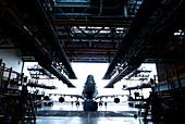 Jumbo jet aeroplane