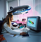 Zeppelin NT aerodynamic modelling