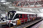 Train at a platform,Malaysia