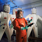 Protective suit manufacture