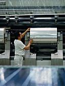 Plastic film factory