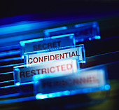 Confidential paperwork
