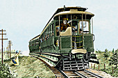 Early electric train