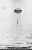 Parachute descent