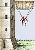 Parachute,16th century