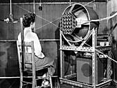 Acoustics test,1954