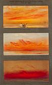 Krakatoa sunsets,1883 artworks