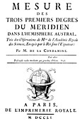 French survey expedition book,1751