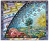 Celestial mechanics,medieval artwork