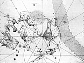 South circumpolar constellations,1603