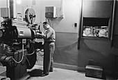 1950s film projector