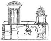 Hero's miraculous altar