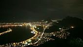 Storm over Rio de Janiero, timelapse