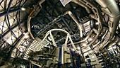 Inside Paranal observatory