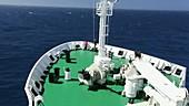Antarctic transport ship