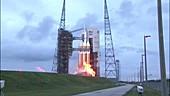 Orion test flight launch, 2014