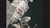 Space Station spacewalk, 2014