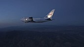 NASA's SOFIA observatory test flight