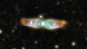 Zooming in on the Twin Jet Nebula